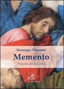 Memento - Giuseppe Pecoraro - copertina