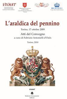 L' araldica del pennino. Atti del convegno (Torino, 17 ottobre 2009) - copertina