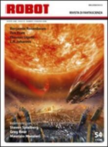Listadelpopolo.it Robot. Rivista di fantascienza (2008). Vol. 54 Image