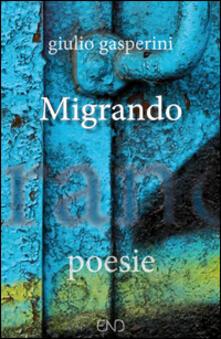 Migrando - Giulio Gasperini - copertina