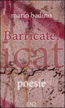Barricate! - Mario Badino - copertina