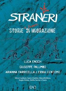 Stran(i)eri. Storie (a fumetti) di migrazione - Luca Enoch,Giuseppe Palumbo,Arianna Farricella - copertina