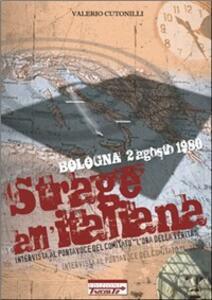 Strage all'italiana - Valerio Cutonilli - copertina