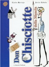 Copertina  La storia di Don Chisciotte della Mancia