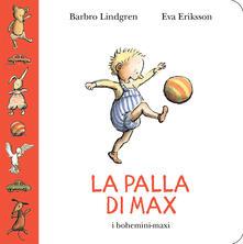 La palla di Max - Barbro Lindgren - copertina