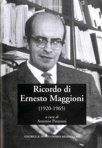 Ricordo di Ernesto Maggioni