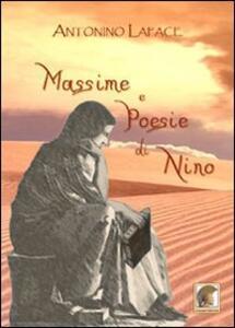 Massime e poesie di Nino