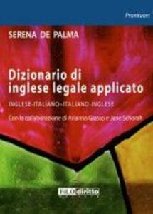 Dizionario di inglese legale applicato