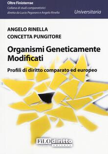 Promoartpalermo.it Organismi geneticamente modificati. Profili di diritto comparato ed europeo Image
