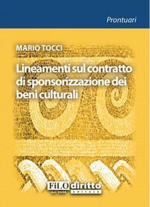 Lineamenti sul contratto di sponsorizzazione dei beni culturali
