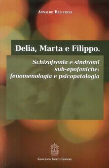 Delia, Marta e Filippo. Schizofrenia e sindromi sub-apofaniche. Fenomenologia e psicopatologia.pdf