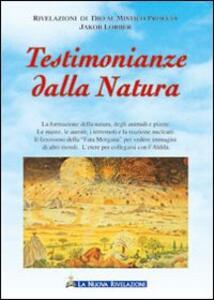 Testimonianze dalla natura