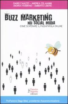 Camfeed.it Buzz marketing nei social media. Come scatenare il passaparola on-line Image