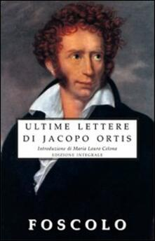 Daddyswing.es Le ultime lettere di Jacopo Ortis Image