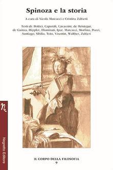 Spinoza e la storia - copertina