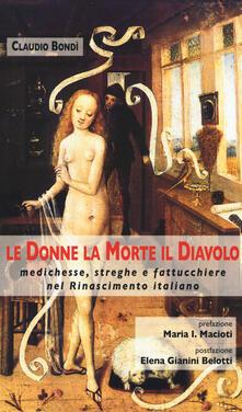 Promoartpalermo.it Le donne, la morte, il diavolo. Medichesse, streghe e fattucchiere nel Rinascimento italiano Image