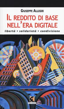Osteriacasadimare.it Il reddito di base nell'era digitale. Libertà, solidarietà, condivisione Image