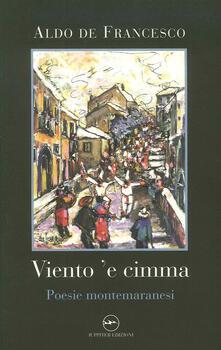 Osteriacasadimare.it Viento 'e cimma. Poesie montemaranesi Image