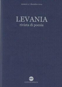 Levania. Rivista di poesia