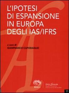 L' ipotesi di espansione in Europa degli IAS/IFRS