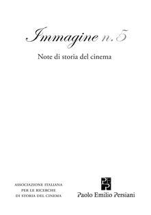 Osteriacasadimare.it Immagine. Note di storia del cinema. Vol. 5 Image