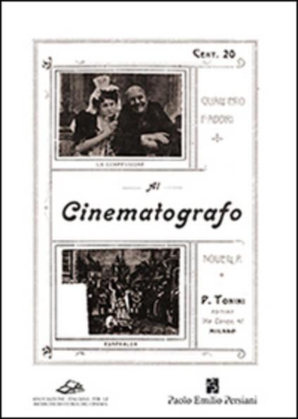 Al cinematografo - Gualtiero Fabbri - copertina