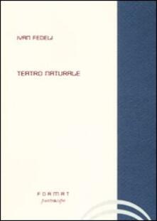 Teatro naturale - Ivan Fedeli - copertina