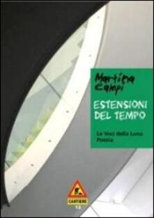 Estensioni del tempo - Martina Campi - copertina