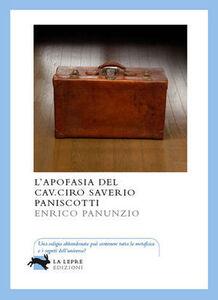 L' apofasia del cav. Ciro Saverio Paniscotti