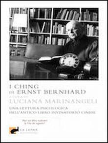 I Ching di Ernst Bernhard - copertina