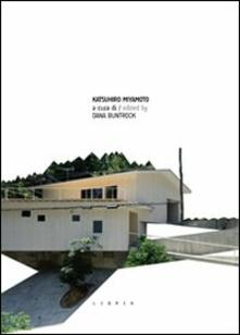 Katsuhiro Miyamoto. Ediz. italiana e inglese - copertina