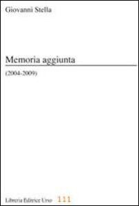 Memoria aggiunta (2004-2009)
