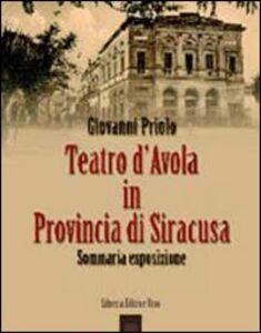 Teatro d'Avola in provincia di Siracusa