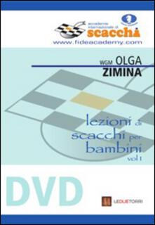 Equilibrifestival.it Lezioni di scacchi per bambini. DVD. Vol. 1 Image