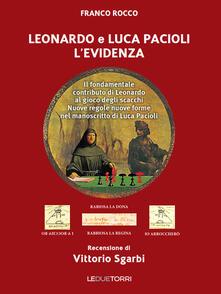 Tegliowinterrun.it Leonardo e Luca Pacioli l'Evidenza. Il fondamentale contributo di Leonardo al gioco degli scacchi Image