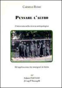Pensare l'altro. Un'applicazione tra immigrati in Italia