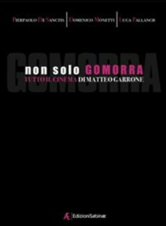 Non solo Gomorra. Tutto il cinema di Matteo Garrone - Pierpaolo De Sanctis,Domenico Monetti,Luca Pallanch - copertina