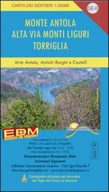 Lpgcsostenible.es GE 6 Monte Antola, Torriglia, alta via dei monti liguri 1:25.000 Image