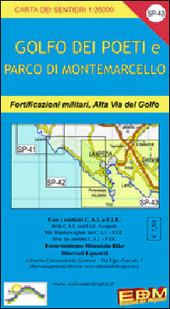 SP 43 Golfo dei Poeti, La Spezia, Lerici, Bocca di Magra, Portovenere 1:25.000