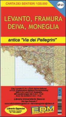 Warholgenova.it SP 41 Riviera spezzina, Deiva, Framura, Bonassola, Levanto Image