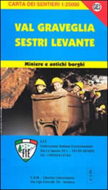 Voluntariadobaleares2014.es GE 3 Sestri Levante e Val Graveglia 1:25000 Image
