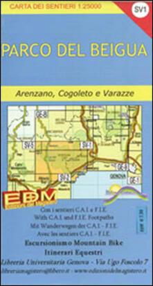 Voluntariadobaleares2014.es SV-1 parco del Beigua. Carte dei sentieri di Liguria Image