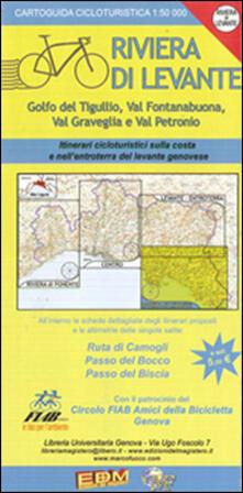 Writersfactory.it Cartoguida cicloturistica. Riviera di Levante. Ruta, Bocco, Biscia Image