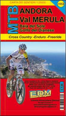 Winniearcher.com MTB-3 Andora. Carte sentieri di Liguria per mountain bike MTB VTT Image