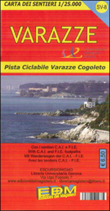 Voluntariadobaleares2014.es SV-8 Varazze. Carte dei sentieri di Liguria Image