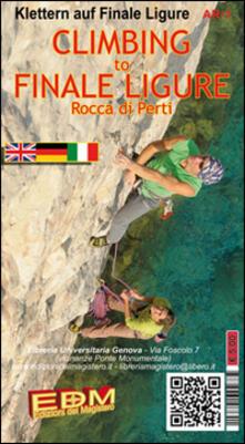 Librisulladiversita.it SV-53 Climbing to Finale Ligure. Carte di arrampicata. Free climbing. Ediz. italiana e inglese Image