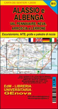 Listadelpopolo.it Im9 valli Neva, Pennavaire, Arroscia e Lerrone. Carta dei sentieri di Liguria Image
