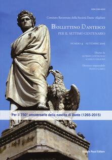 Equilibrifestival.it Bollettino dantesco. Per il settimo centenario (2015). Vol. 4 Image