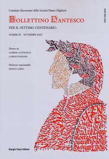 Premioquesti.it Bollettino dantesco. Per il settimo centenario (2017). Vol. 6 Image