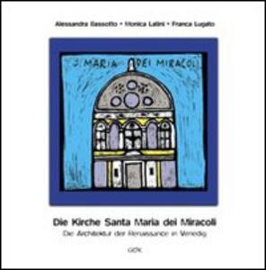 Die Kirche Santa Maria dei Miracoli. Die architektur der renaissance in Venedig
